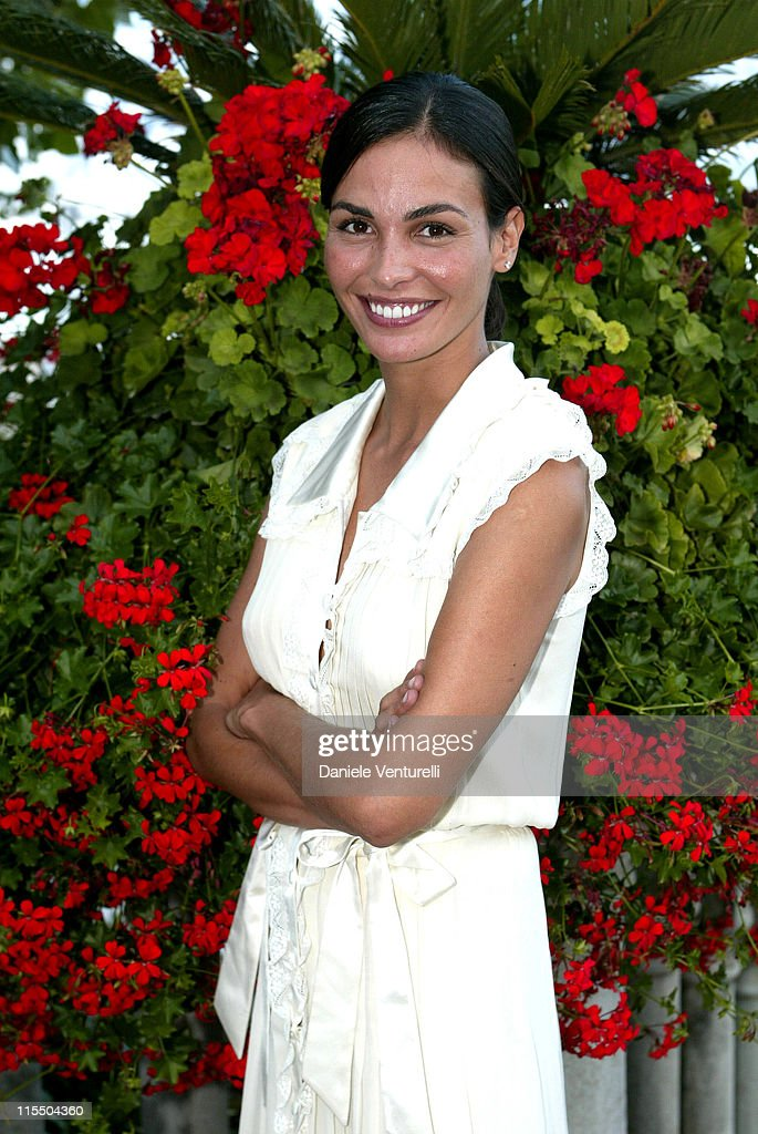 <a gi-track='captionPersonalityLinkClicked' href=/galleries/search?phrase=Ines+Sastre&family=editorial&specificpeople=206220 ng-click='$event.stopPropagation()'>Ines Sastre</a> during 2005 Venice Film Festival - Celebrity Sightings - August 30, 2005 at Westin Excelsior Resort in Venice, Italy.