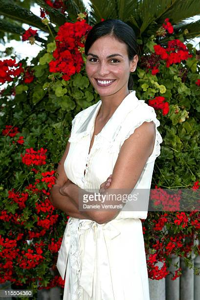 Ines Sastre during 2005 Venice Film Festival Celebrity Sightings August 30 2005 at Westin Excelsior Resort in Venice Italy