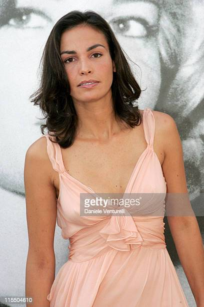 Ines Sastre during 2005 Venice Film Festival Ines Sastre Photocall at The Westin Excelsior in Venice Lido Italy