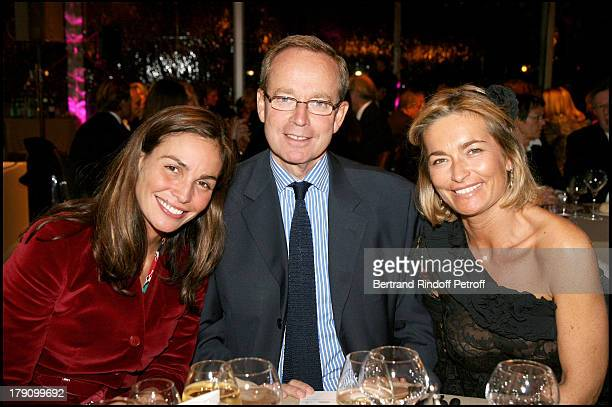 Ines Sastre Renaud Donnedieu De Vabres and Fabienne Bazire at Dinner Gala For The Hospital Of Paris Foundation Organised By The Association 'C'est A...