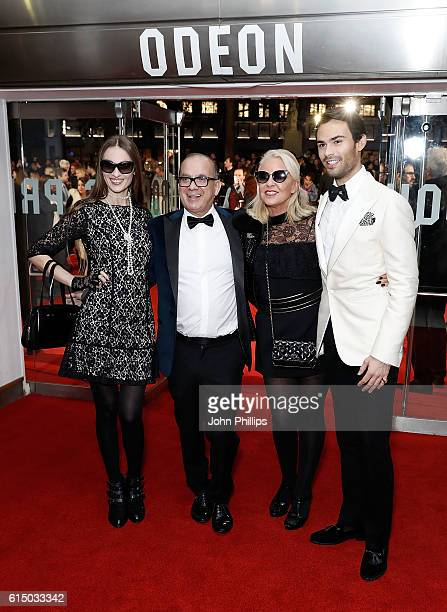 Inesa De La Roche Touker Suleyman Amanda Eliasch and MarkFrancis Vandelli attend the 'Free Fire' Closing Night Gala screening during the 60th BFI...
