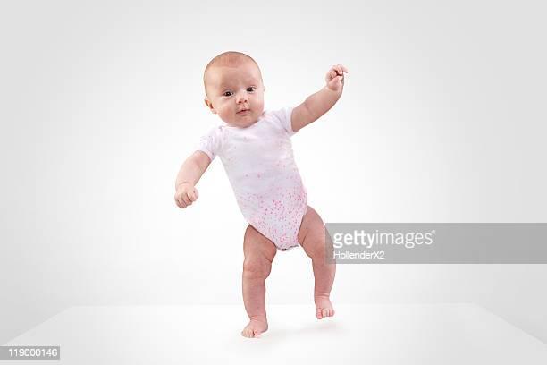 infant dancing
