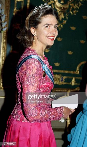 Infanta Cristina Of Spain During The Celebration For King Carl Gustav Of Sweden'S 50Th Birthday