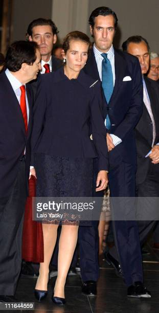 Infanta Elena of Spain and Husband Jaime de Marichalar