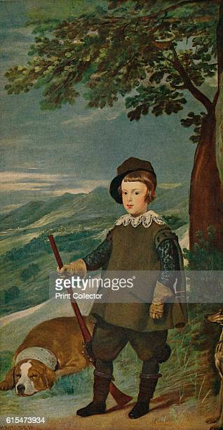 Infante Don Baltasar Carlos' 16351636 King Phillip IV commissioned Velazquez to paint a series of portraits on the theme of the hunt Prince Balthasar...