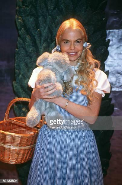 Infantile presentation of the musical one 'El Mago de Oz ' played by Leticia Sabater Infantile presentation of the musical one 'El Mago de Oz '...