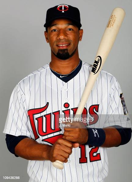 Infielder Alexi Casilla of the Minnesota Twins poses for a photo during photo day at Hammond Stadium on February 25 2011 in Fort Myers Florida