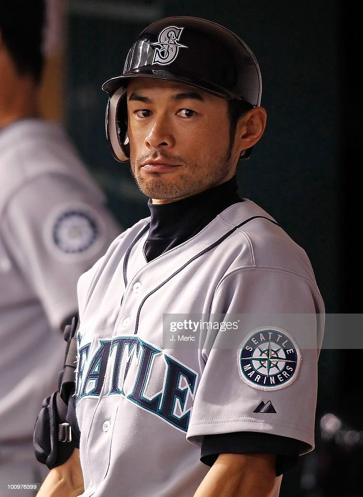 Infielder Ichiro Suzuki #51 of the Seattle Mariners prepares to bat against the Tampa Bay Rays during the game at Tropicana Field on May 14, 2010 in St. Petersburg, Florida.