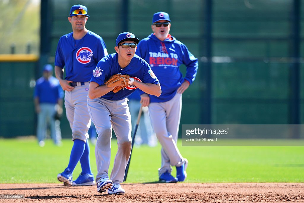 Chicago Cubs Workout