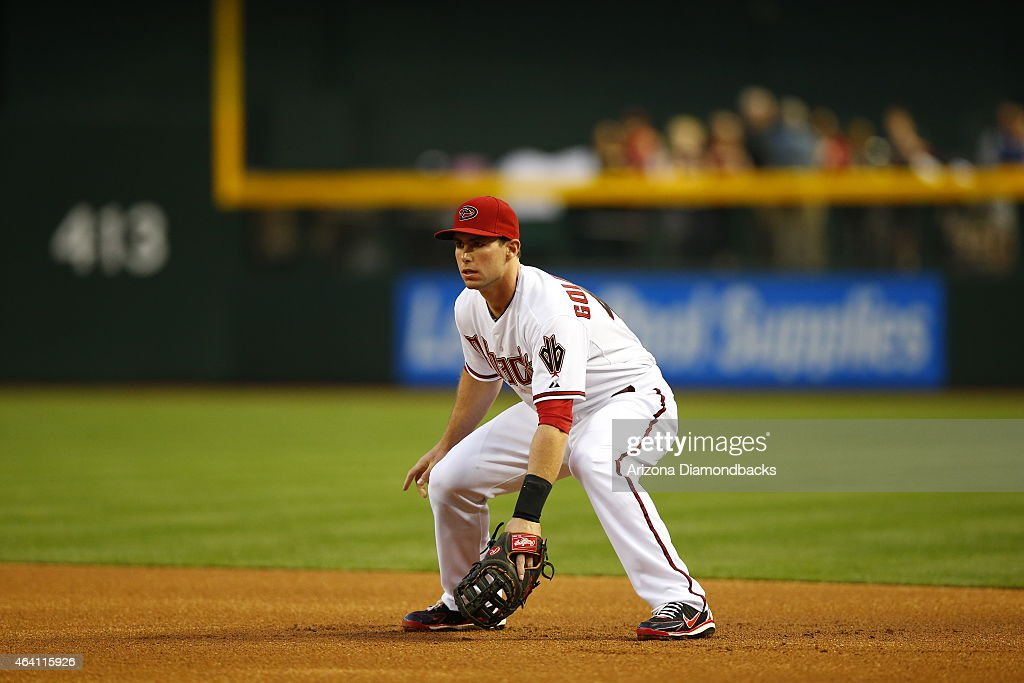 Infielder Paul Goldschmidt of the Arizona Diamondbacks in action during the MLB game against the Pittsburgh Pirates at Chase Field on April 9 2013 in...
