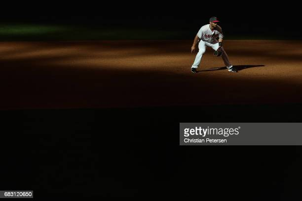 Infielder Paul Goldschmidt of the Arizona Diamondbacks in action during the 10th inning of the MLB game against the Pittsburgh Pirates at Chase Field...