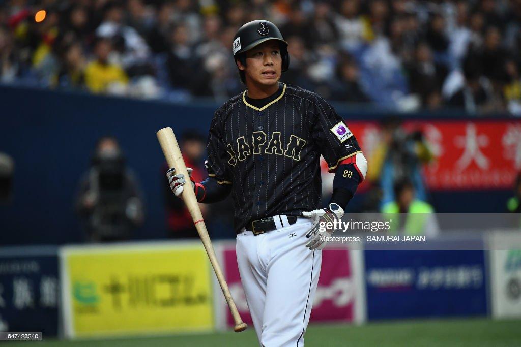 Japan v Hanshin Tigers - World Baseball Classic Warm-Up Game