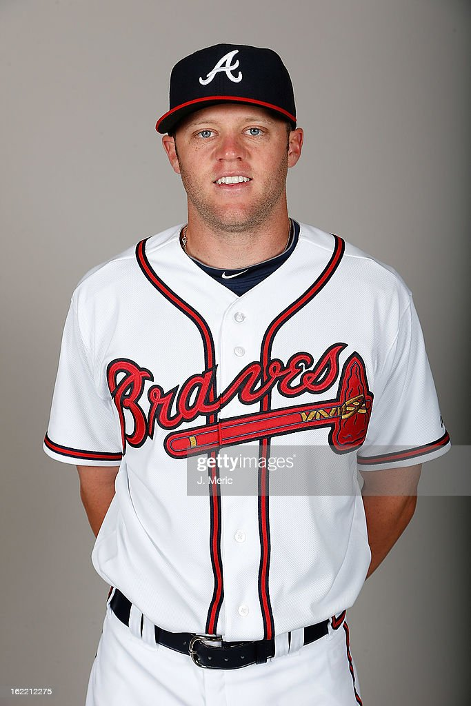 Infielder Tyler Pastornicky #1 of the Atlanta Braves poses for a photo during photo day at Champion Stadium at the ESPN Wide World of Sports Complex at Walt Disney World on February 20, 2013 in Lake Buena Vista, Florida.