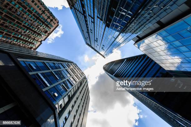 Infinite Corporate Buildings in Shenzhen