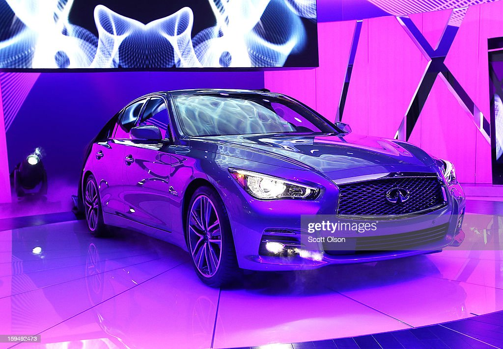 Infiniti introduces the 2014 Q50 to replace their best-selling G sedan at the North American International Auto Show on January 14, 2013 in Detroit, Michigan. The auto show will be open to the public January 19-27.