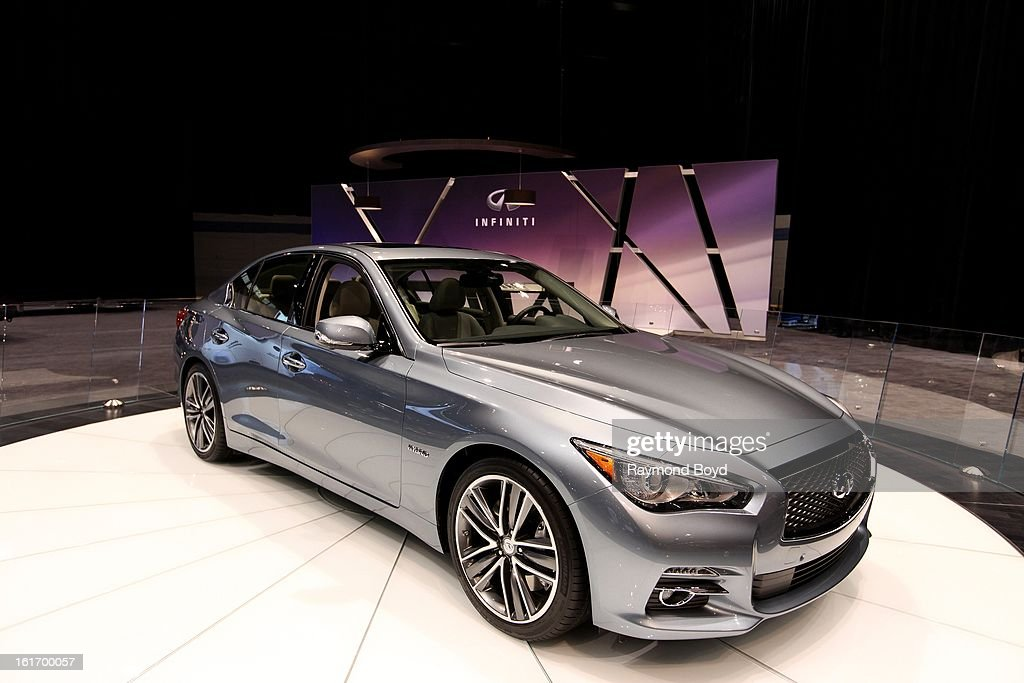 Infiniti Q5, at the 105th Annual Chicago Auto Show at McCormick Place in Chicago, Illinois on FEBRUARY