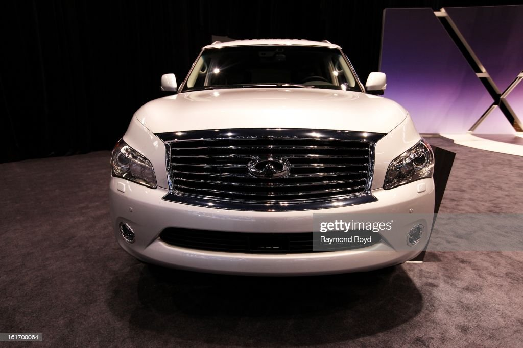 Infiniti QX Truck, at the 105th Annual Chicago Auto Show at McCormick Place in Chicago, Illinois on FEBRUARY