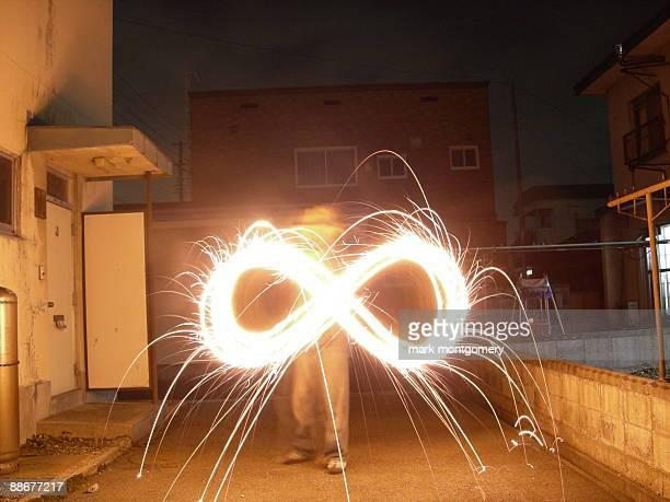 Infinity in fire
