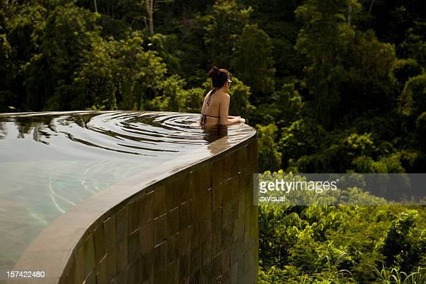 Infinity Pool Lookout in Ubud Bali