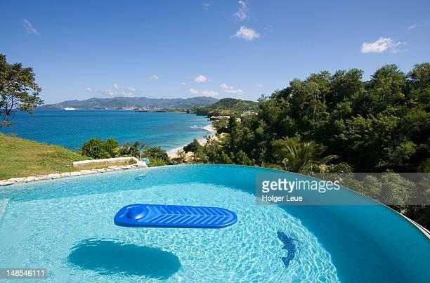 Infinity pool, Maca Bana Villas, Point Salines.