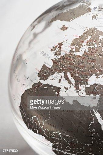 Inflatable Globe : Stock Photo