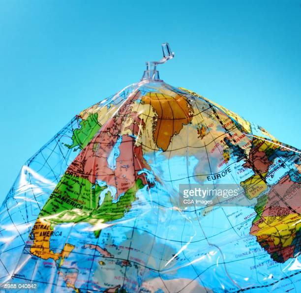 Inflatable Plastic Globe