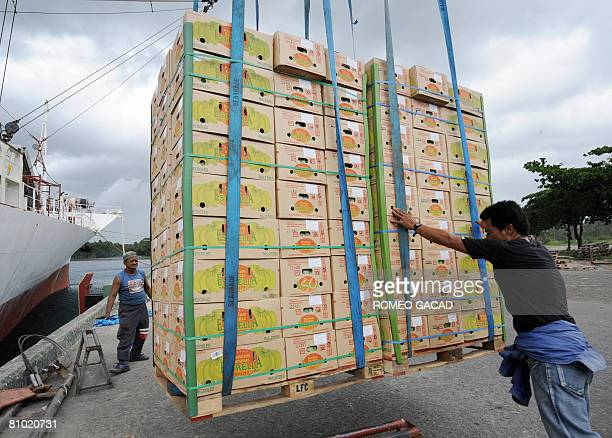 InflationpovertyfoodPhilippinesagriculturereformFEATURE by Cecil Morella Boxes of freshly harvested Philippine bananas destined for China and South...