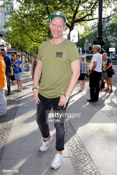Influencer and actor Daniel Termann attends the 'Global Gladiators' exclusive preview at Astor Film Lounge on May 29 2017 in Berlin Germany