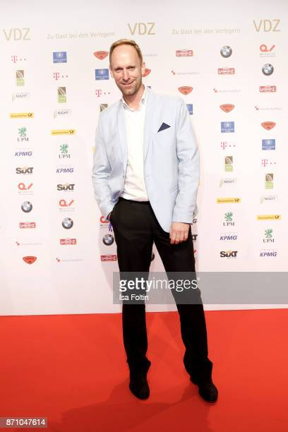 Influencer and actor Daniel Termann during the VDZ Publishers' Night at Deutsche Telekom's representative office on November 6 2017 in Berlin Germany