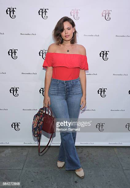 DJ Influencer Atlanta de Cadenet Taylor at Abercrombie Fitch Summer Rooftop Party at Gallow Green Rooftop on July 28 2016 in New York City