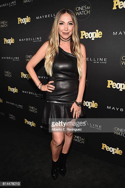 Influencer Diana Madison attends People's 'Ones to Watch' event presented by Maybelline New York at EP LP on October 13 2016 in Hollywood California