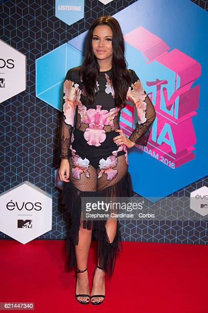 Influencer Monica Geuze attends the MTV Europe Music Awards 2016 on November 6 2016 in Rotterdam Netherlands No 212102No