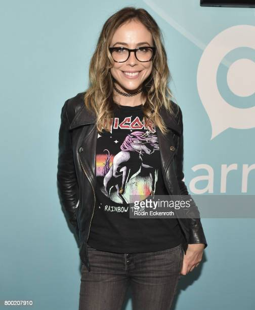 Influencer Shira Lazar poses for portrait at 2017 VidCon at the Anaheim Convention Center on June 23 2017 in Anaheim California
