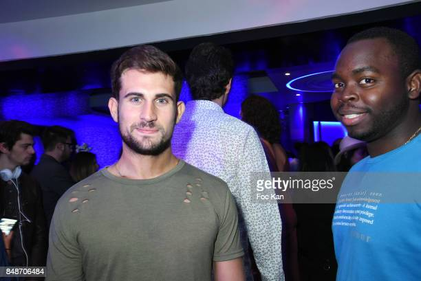 Influencer Yanis Bargoin attends 'Identik' by M Pokora Launch Party at Duplex Club on September 17 2017 in Paris France