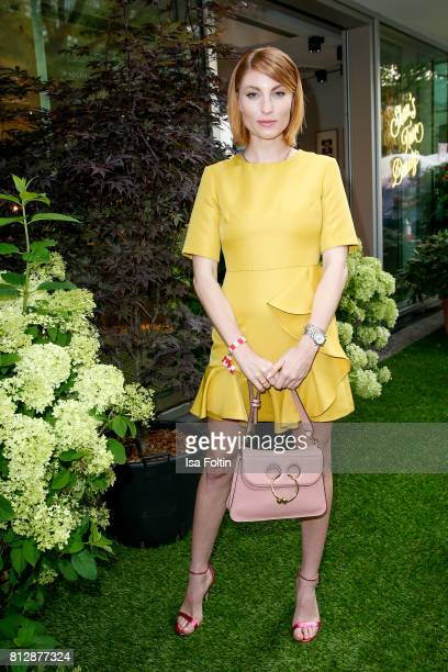 Influenzer Lisa Banholzer during the 'True Berlin' Hosted By Shan Rahimkhan on July 11 2017 in Berlin Germany