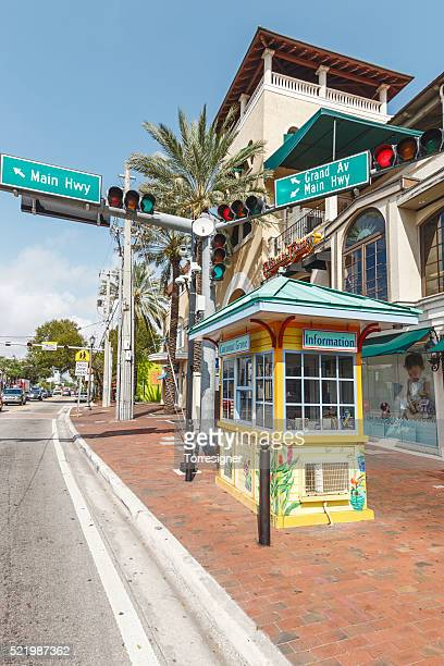 Information Booth at Coconut Grove, Miami