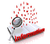 Information search in the design of information related to the analysis of knowledge