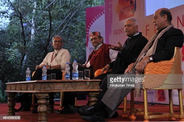 Infosys Independent Director Ravi Venkatesan Journalist Paranjoy Guha Thakurta BJP leader Yashwant Sinha and former Chief Election Commissioner of...