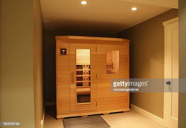 Infra Red Sauna Inside Home