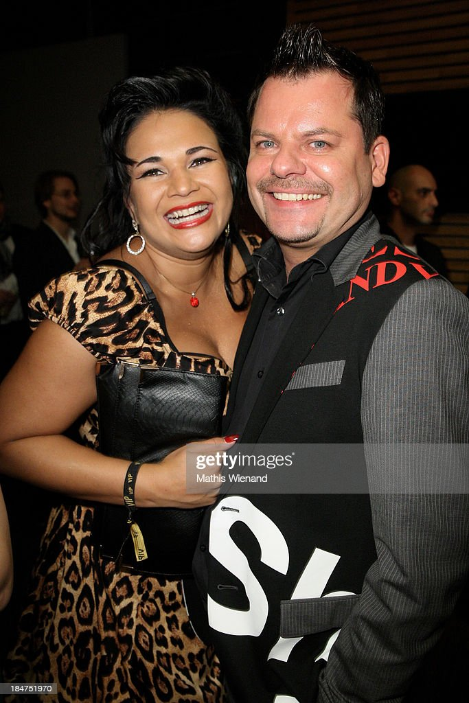 Ingo Appelt and his wife attends the 17th Annual of the German Comedy Awards at Coloneum on October 15, 2013 in Cologne, Germany.
