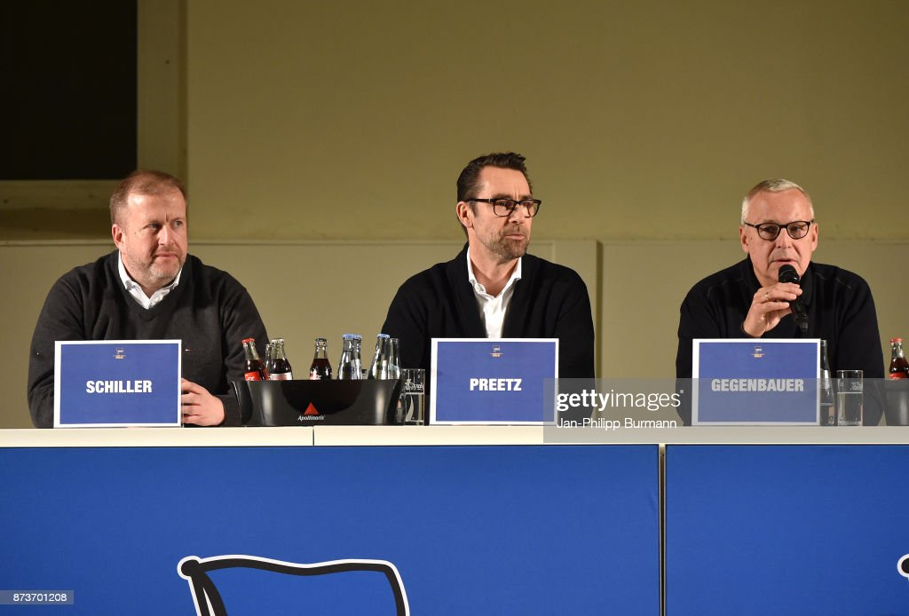 dialog with Hertha BSC