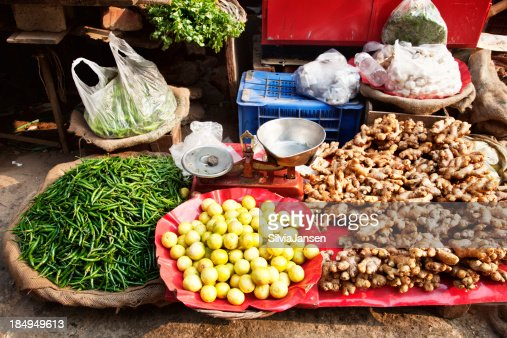 Ingredients asian cooking market vegetables spice stock for Asian cuisine ingredients