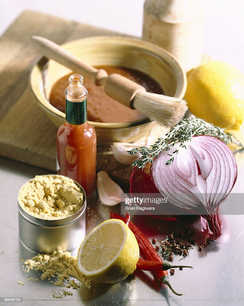 Ingredients for barbecue sauce