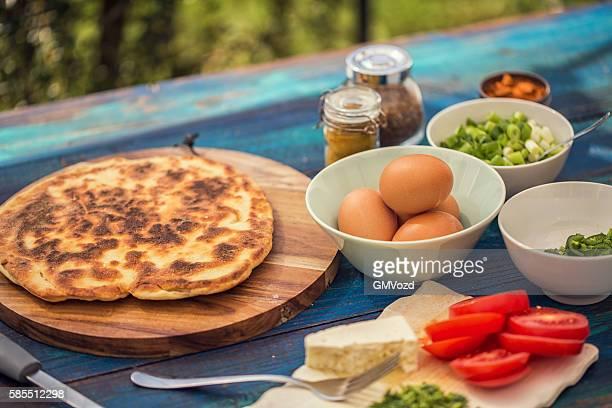 Ingredients for Indian Masala Fried Egg