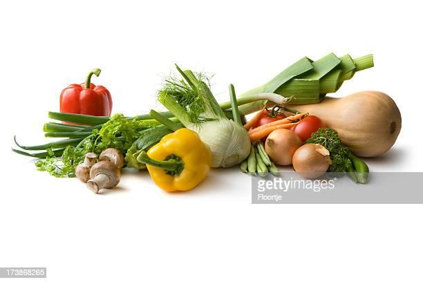 Ingrédients: Poireau, fenouil, ButternutSquash, champignons, tomates, oignons, Bean, BellPepper, SpringOnion