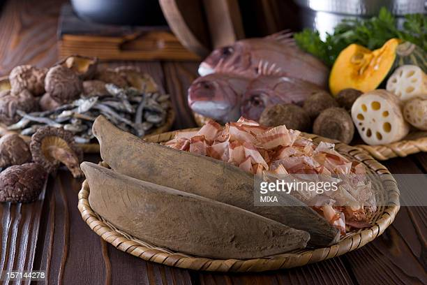 Ingredients of Dashi