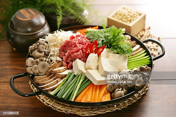 Ingredients of Jeongol