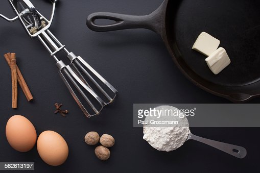 Ingredients prepared for cooking