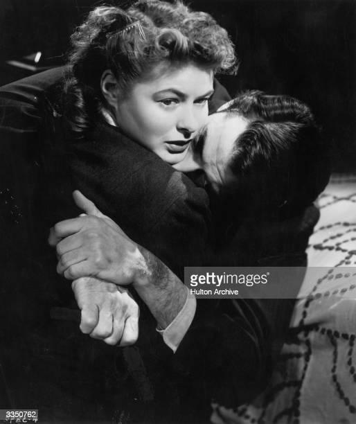 Ingrid Bergman and Gregory Peck star in Alfred Hitchcock's psychological thriller 'Spellbound'
