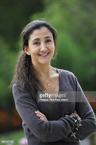 Ingrid Betancourt relaxes in the gardens of the French embassy on December 6 2008 in La Paz Bolivia Bolivia is one of the stops on her tour across...